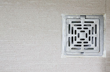 Internal floor drains